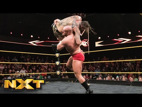 Lars Sullivan obliterates Aleister Black with the Freak Accident: WWE NXT, June 13, 2018