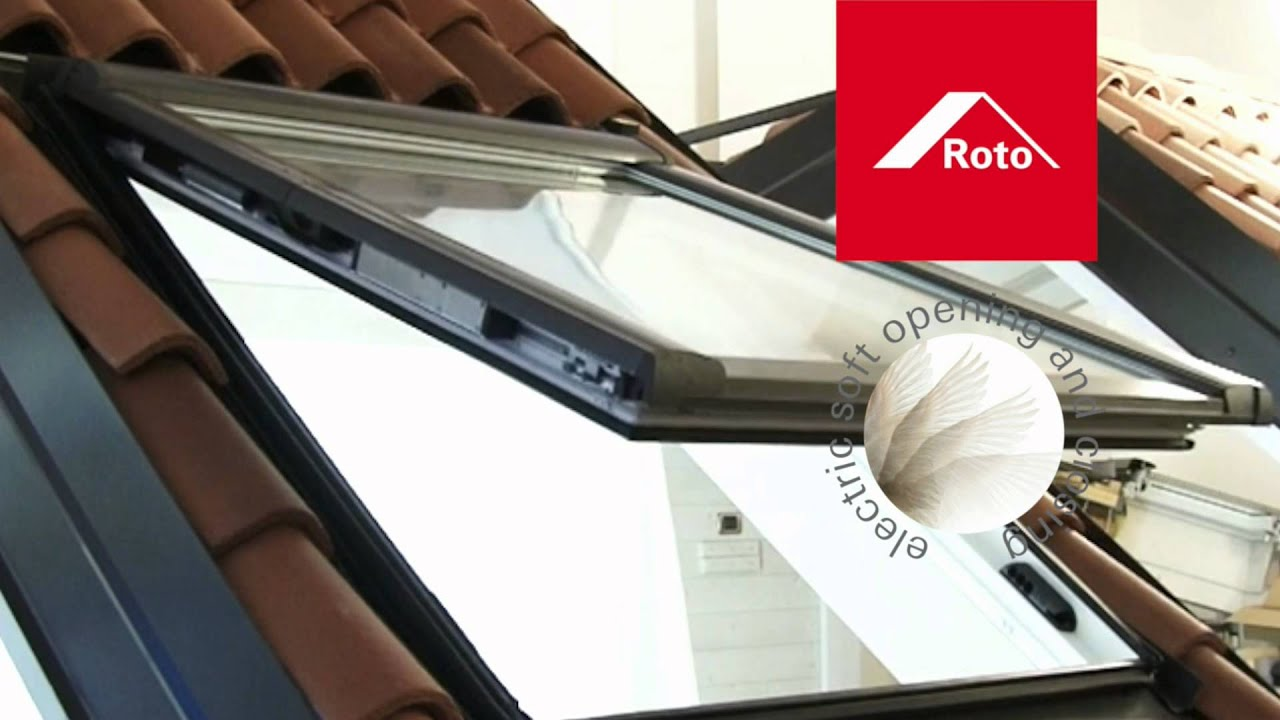 Rotocomfort i8 high youtube for Roto finestre da tetto