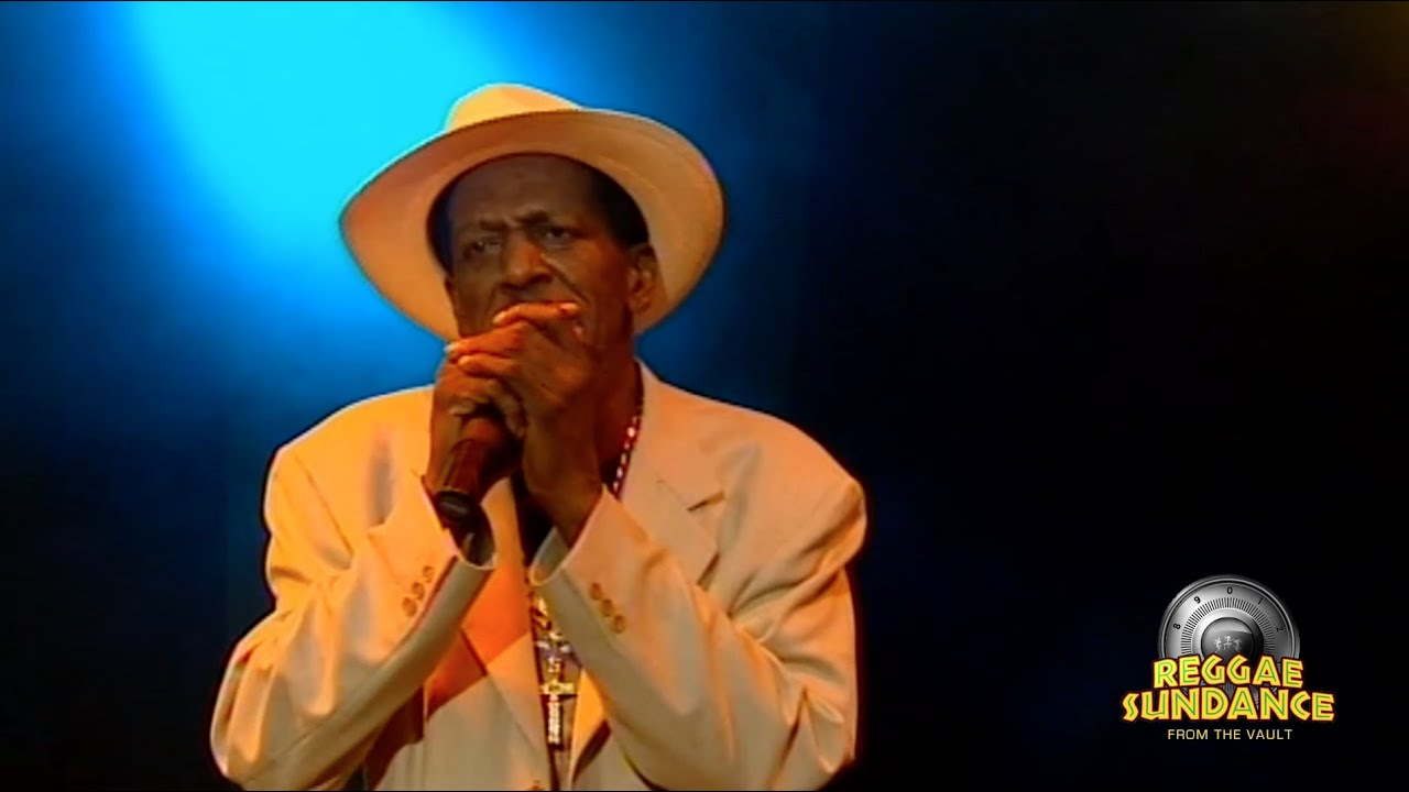 Gregory Isaacs Live At Reggae Sundance 2007 Youtube