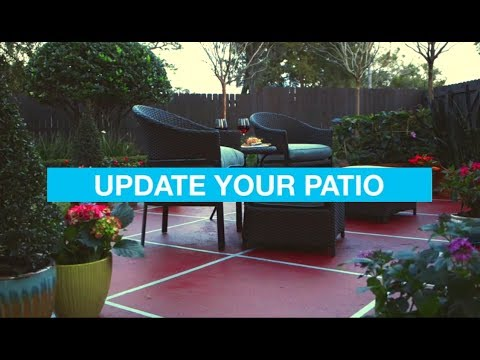 Easy Patio Ideas: Outdoor Living Spaces   YouTube