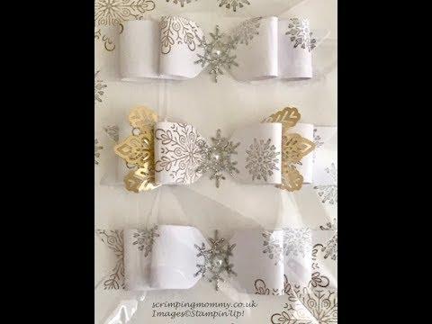 Craft fair idea beautiful paper bows