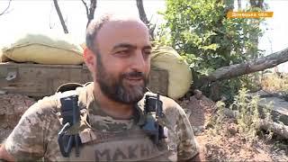 Террористы гатят из минометов и пулеметов по боеприпасам ВСУ
