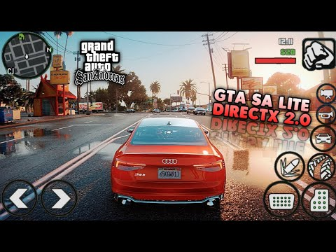SUPER KEREN!! GTA SA DirectX 2.0 New 2020 With GTA V Graphics for Android Full Mod - Support All GPU - 동영상