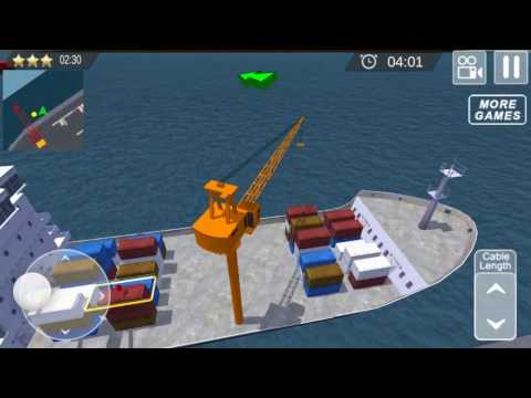 Cargo Ship Manual Crane 3 - Action & Adventure | Android GamePlay HD