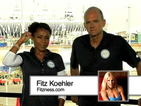 Olympic Gold Medalists Dominique Dawes and Rowdy Gaines talk London 2012 and Fitness with Fitz