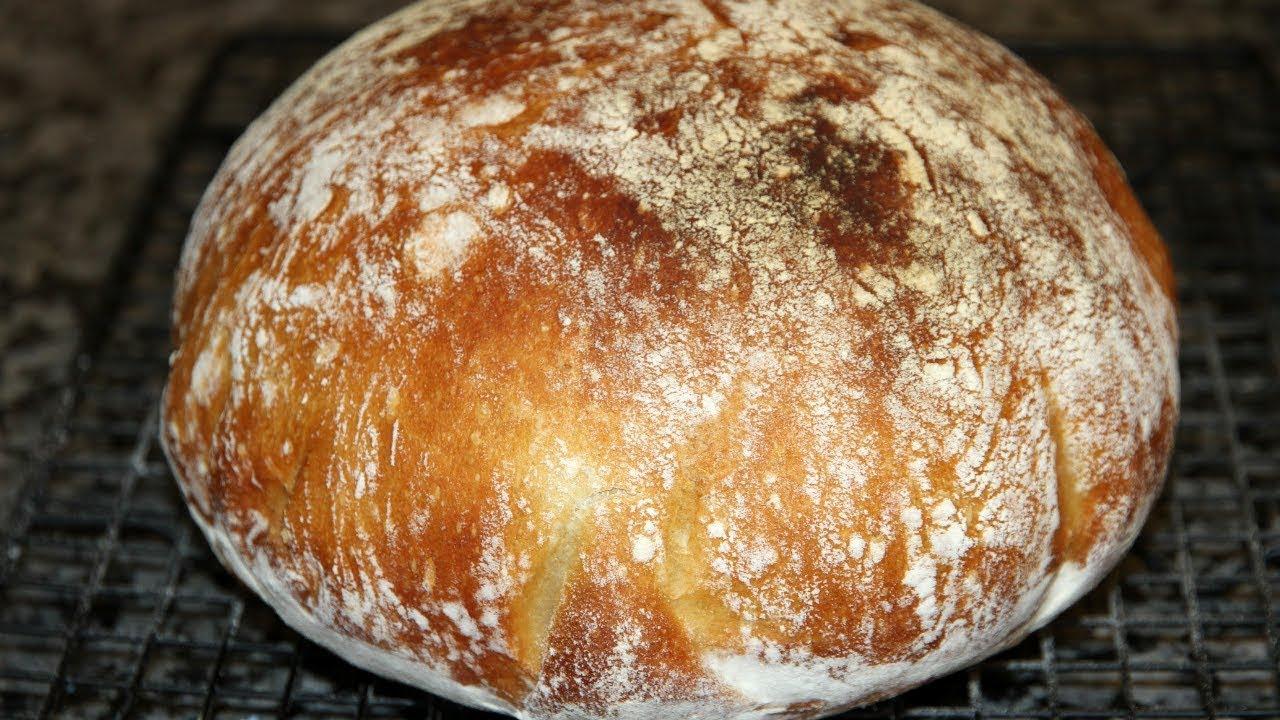 ржаной хлеб без замеса проще не бывает
