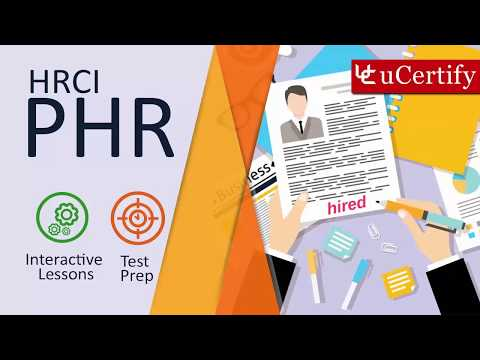 HRCI PHR Certification Exam Guide