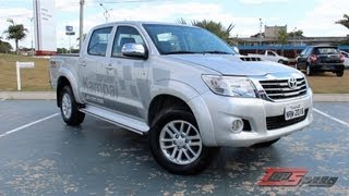 Avaliação Toyota Hilux Srv Top 3.0 Diesel   Canal Top Speed