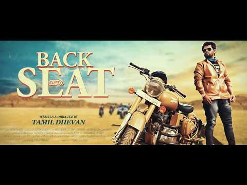 Back Seat - Official Motion Poster - Tamil Dhevan