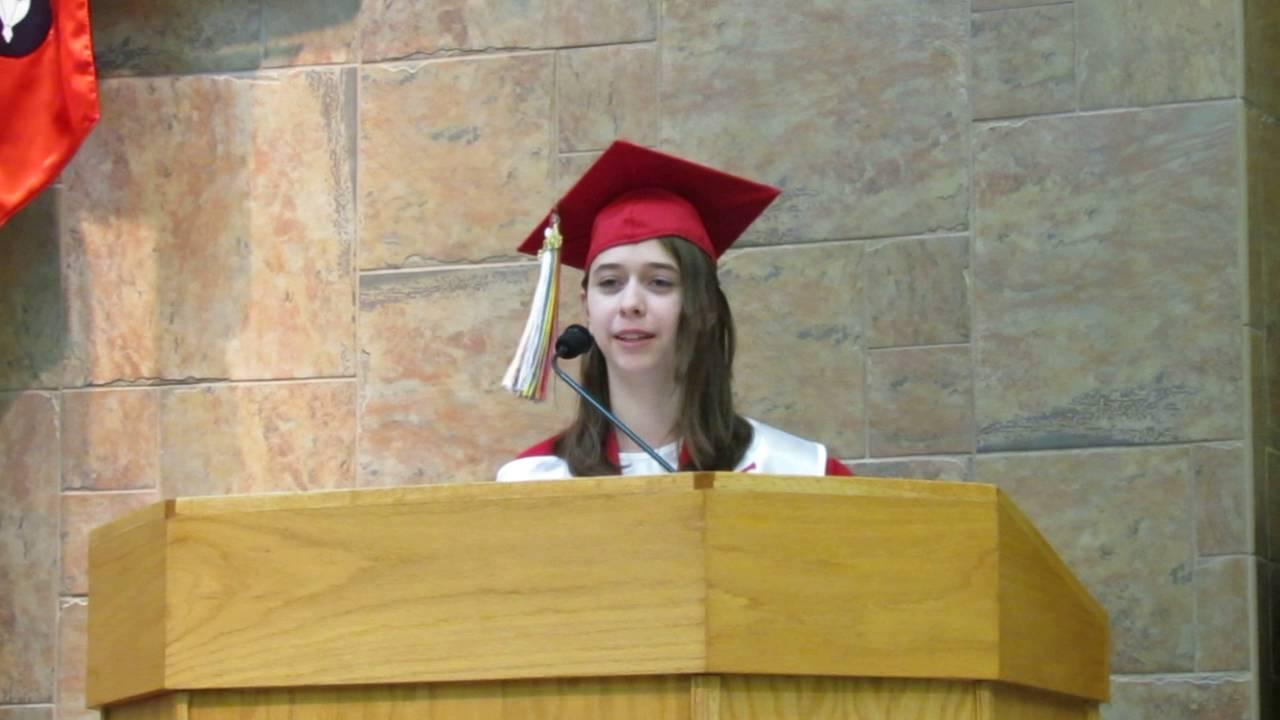 Carly Frieders' Graduation Speech - Good Shepherd Ucc Graduation Sunday 2016