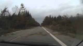 Sturmtief Christian, 28.10.2013, Nordfriesland - Schockierende Bilder[HD]