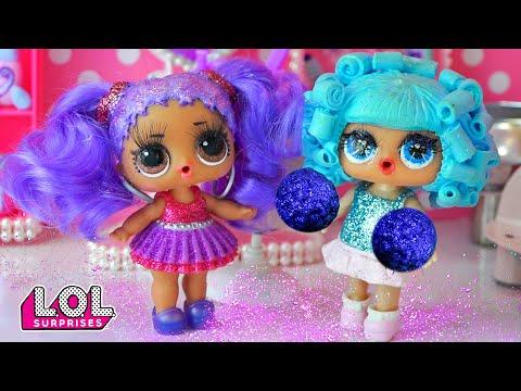 Мария снова нарастила волосы в салоне красоты! Трансформация куклы ЛОЛ! Сериал про любовь подростков