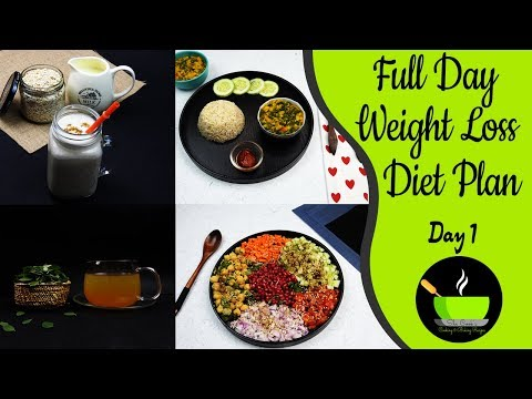 How To Lose Weight Fast 10Kg In 10 Days | Full Day Meal Plan For Weight Loss | Indian Diet Plan