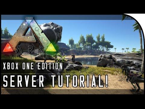 "ARK: Survival Evolved XBOX ONE TUTORIAL - ""How to Make a Private Server / Dedicated Server!"""