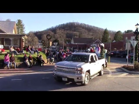 Blairsville GA Christmas Parade 2015