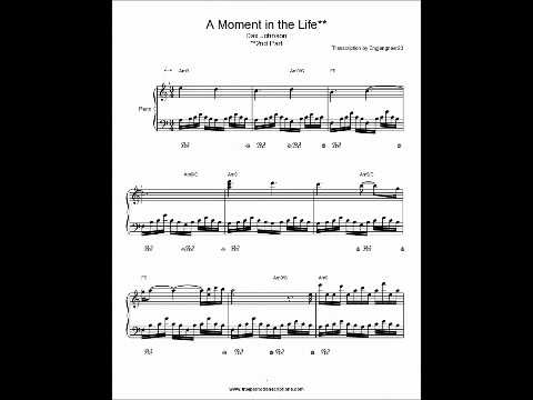 A Moment in the Life Part 2 Dax Johnson Piano sheet music