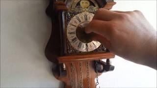 Warmink Dutch 8 Day Oak Wood Sallander Wall Clock For Sale On Ebay Uk.