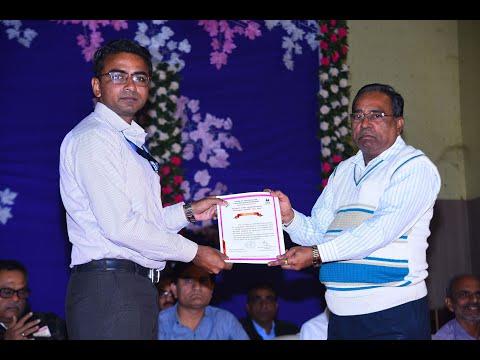 NSS Volunteers & Programme Officer Receving Certificates