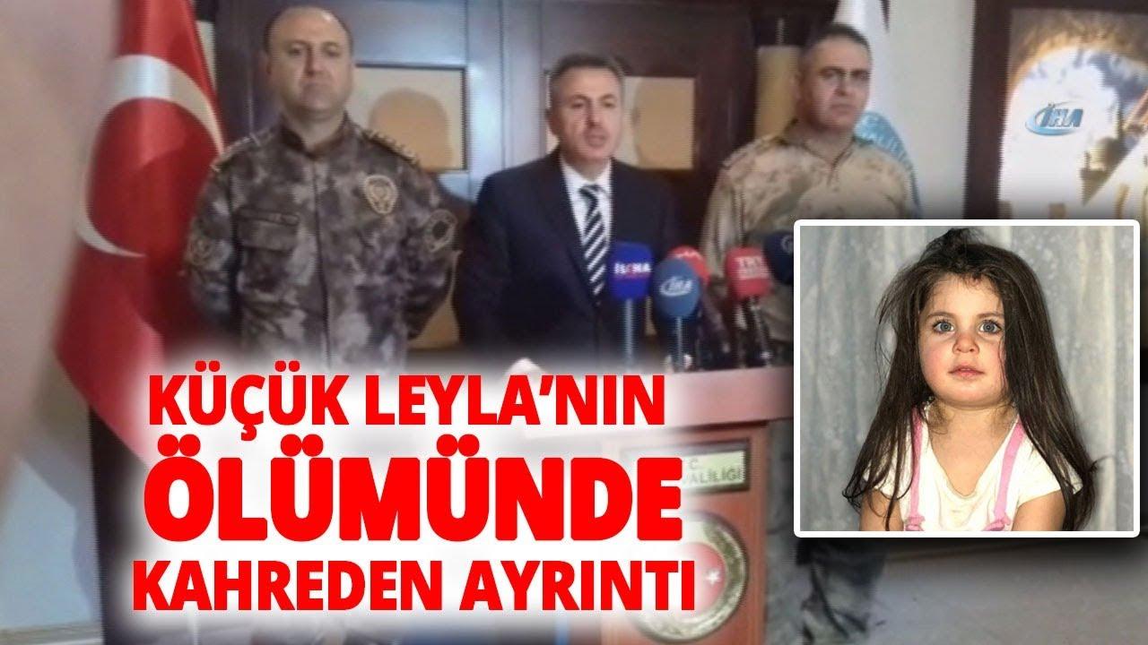 Ağrı Valis Süleyman Elban'dan Küçük 'Leyla'nın Ölümüne İlişkin Açıklama