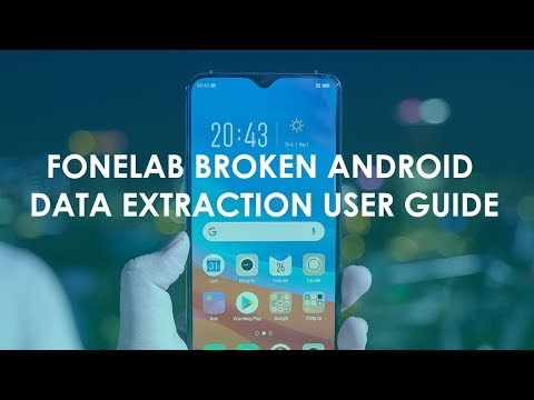 Recover Android phone data from broken devices and fix