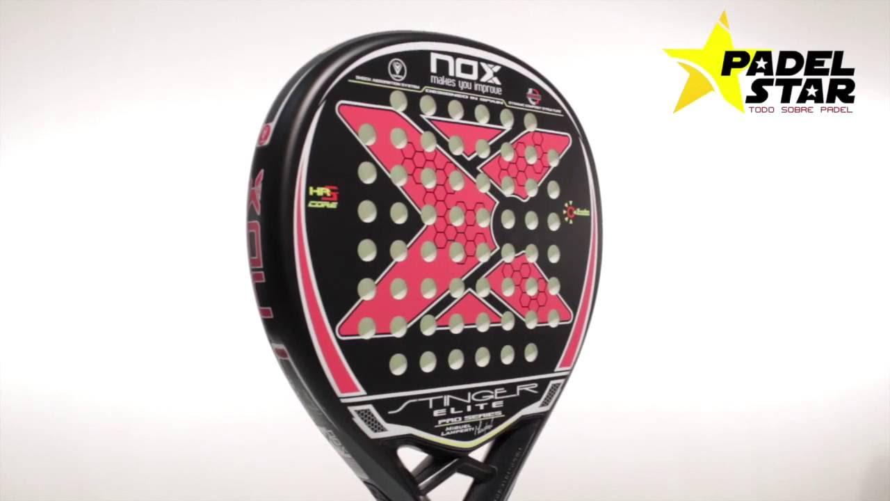 d2d809c1f Nox Stinger Elite Pro Series | PadelStar - YouTube