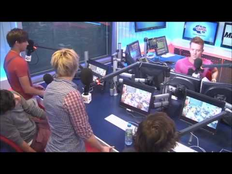One Direction on Capital FM (12/09/2011) Part 1