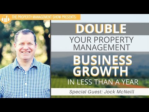 How To Double Your Property Management Business Growth in Less Than a Year