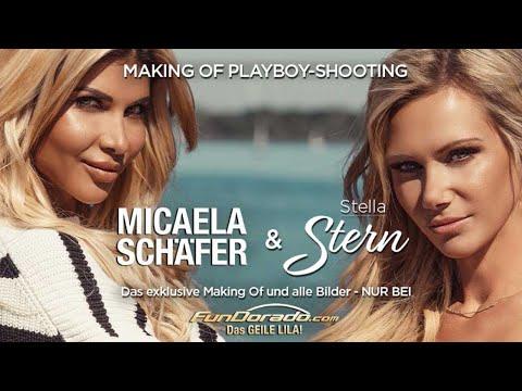 Micaela Schäfer: Playboy Cover Shooting Mit Stellas Stern Teil 1
