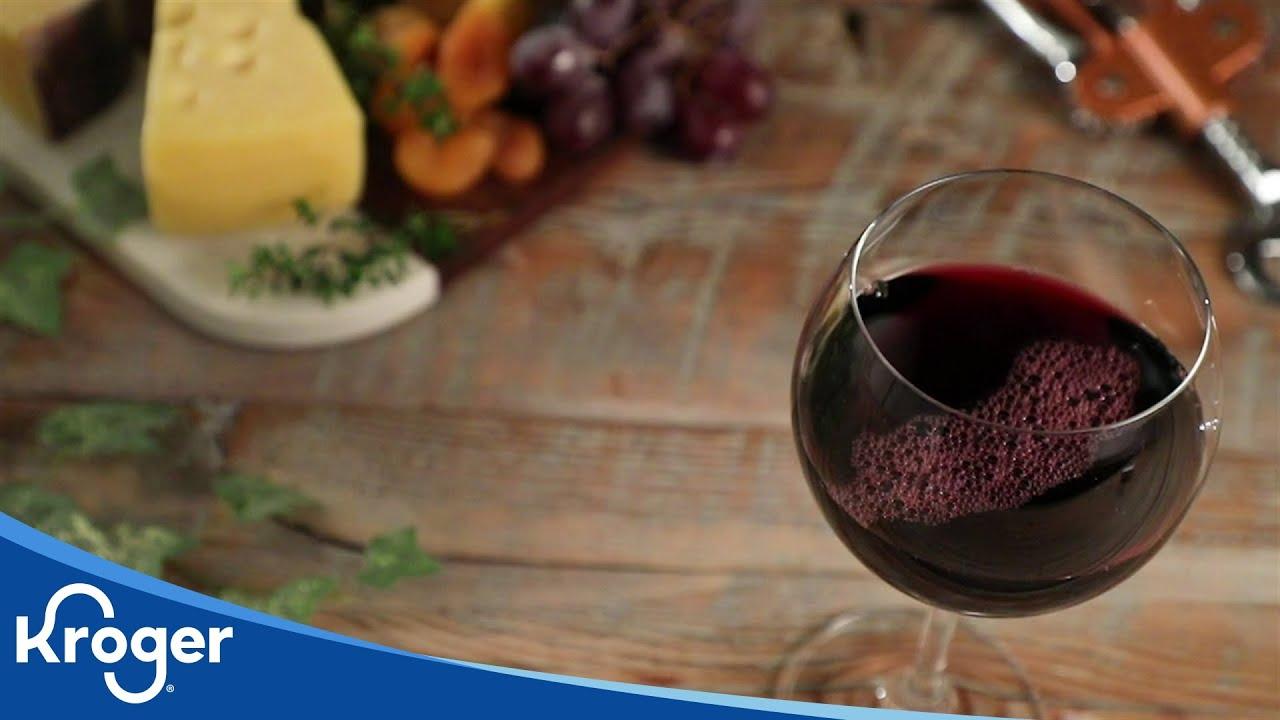 Red Wine Tutorial │VIDEO │Kroger