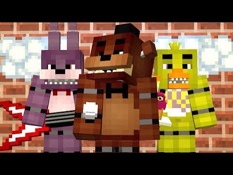 minecraft fnaf map iron commander