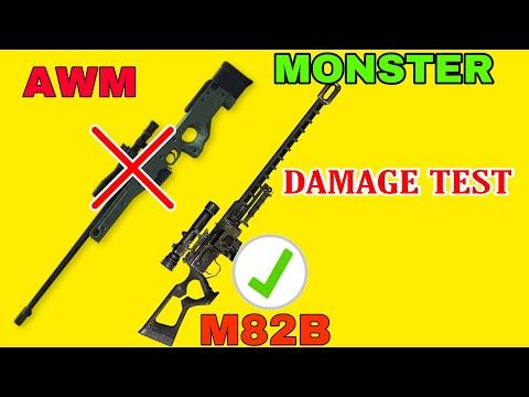 M82b gun damage test in free fire tamil || full detail about m82b gun in tamil
