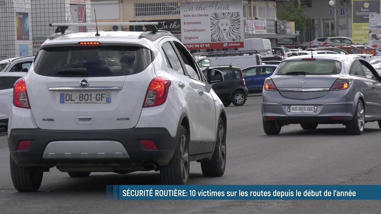 10 victimes sur les routes de Guadeloupe depuis le début de l'année....