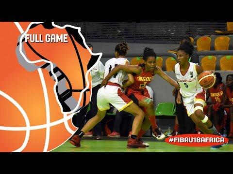 Mozambique v Angola - Full Game - 3rd Place - 2016 FIBA Africa U18 Women's Championship