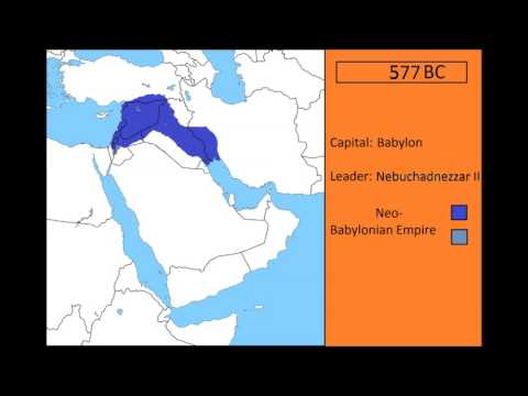 Rise and fall of the Neo Babylonian empire