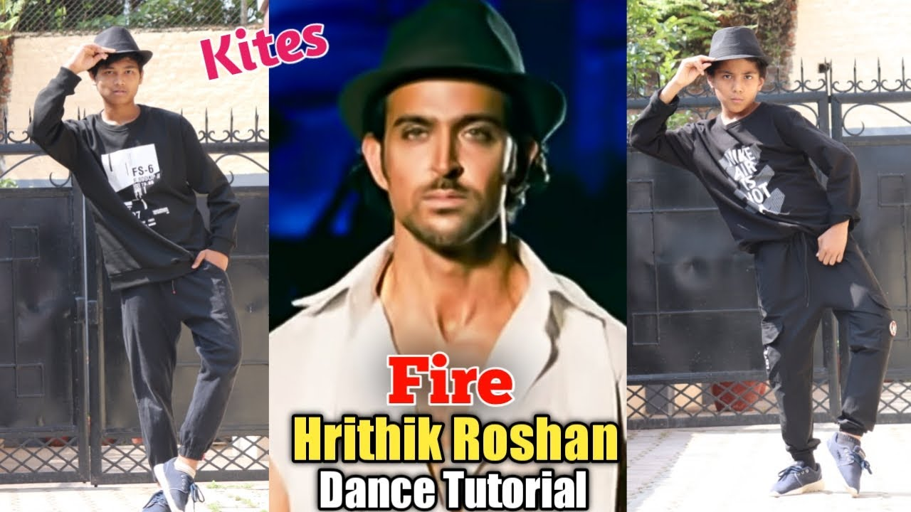 Fire - Hrithik Roshan Epic Move Tutorial   Body Wave + Footwork Dance   Kites   Step by Step