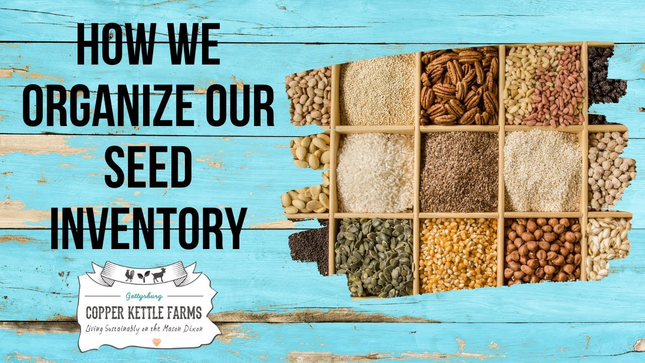 How to keep a digital seed inventory!