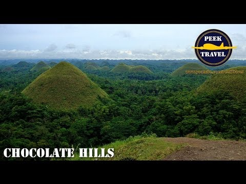 Chocolate Hills Philippines BEFORE THE 2013 BOHOL EARTHQUAKE