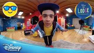 The Lodge | 360 VIDEO: The Lodge Tour | Official Disney Channel UK*