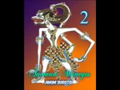 Wayang Kulit Dalang Kondang Anom Suroto Lakon ~ ANOMAN MANEGES Part 28