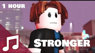 Roblox Music Video ♪ Stronger (The Bacon Hair) - 1 HOUR