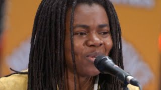 """Tracy chapman is widely regarded as a thoughtful and introspective singer-songwriter, producing such hits """"fast car"""" """"give me one reason."""" she was bor..."""