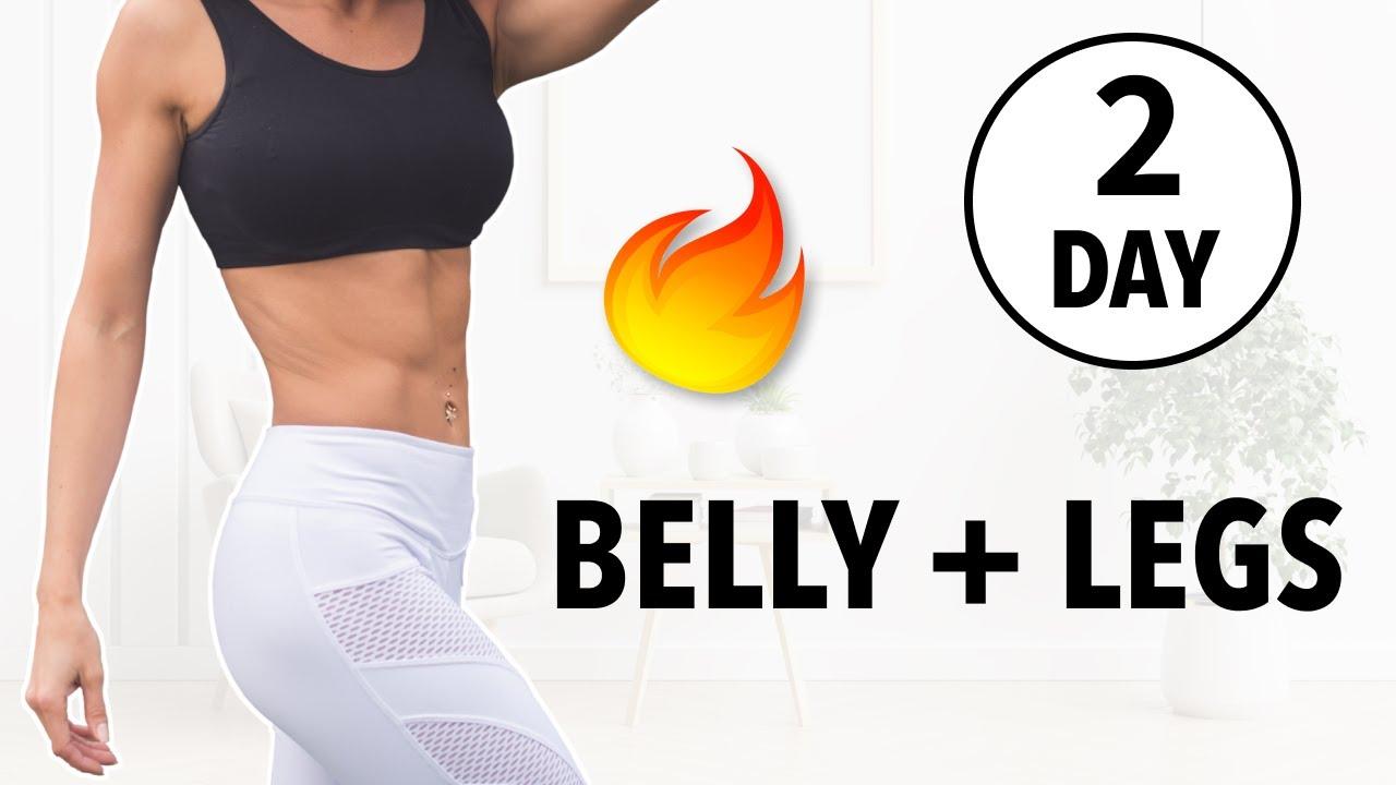 DAY 2: BELLY + LEGS EXERCISES (MEDIUM)