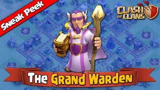 Clash of Clans - The Grand Warden [New Hero for Town Hall 11]