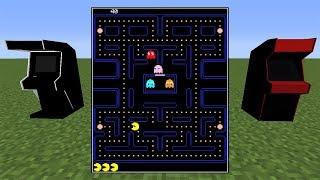 Minecraft İçinde Farklı Oyunlar Oynamak - Arcade Mod