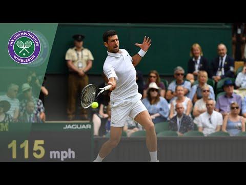 Novak Djokovic vs Roberto Bautista Agut Wimbledon 2019 semi-final highlights