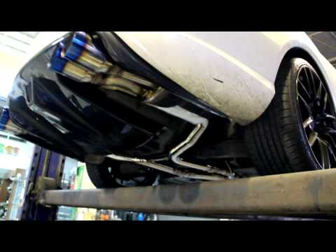 ● Mercedes Benz E250 Coupe CGI ● TRR Cat-back Exhaust System ●
