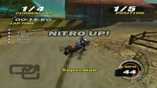 Nitrobike Nintendo Wii Video - Tough Corners