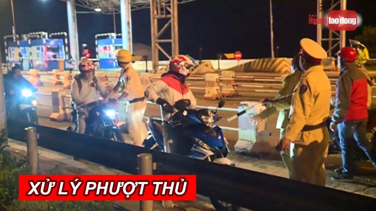 Trắng đêm xử lý phươt thủ trên quốc lộ 20   NLĐTV