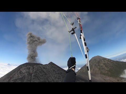 JT - Paragliding Very Close to a Volcano