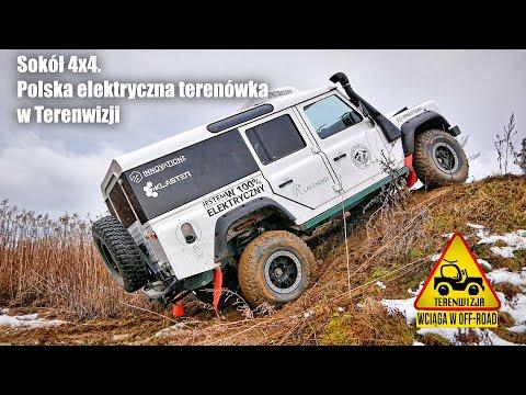 SOKÓŁ 4X4. Polska Elektryczna Terenówka W Terenwizji